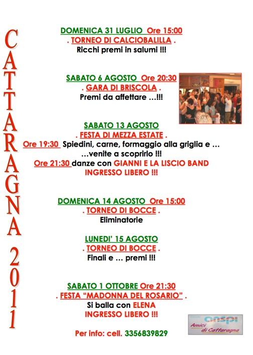 Eventi 2011 second parte