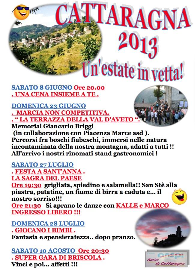 Calendario estate 2013 a